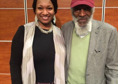 Chalet and Dick Gregory